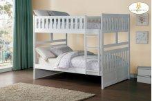 HOMELEGANCE B2053FFW-1B2053FFW-2B2053FFW-SL Galen Full / Full Bunk Bed