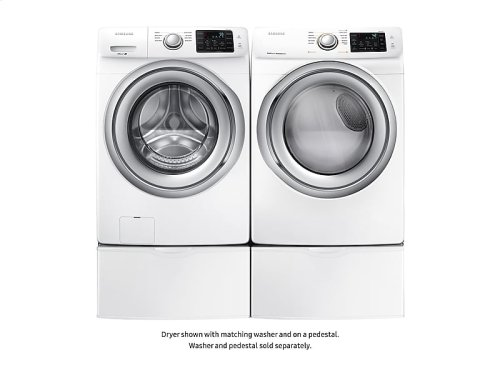 DV5300 7.5 cf electric FL dryer w/ Steam (2018)
