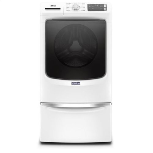 Maytag® Front Load Washer with Extra Power and 16-Hr Fresh Hold® option - 4.8 cu. ft. - White