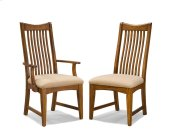 Pasadena Revival Slat Back Arm Chair