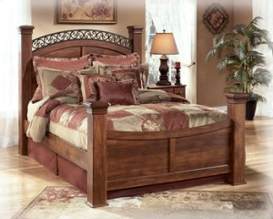 Timberline - Warm Brown 4 Piece Bed Set (King)