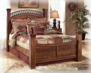Timberline - Warm Brown 4 Piece Bed Set (King)
