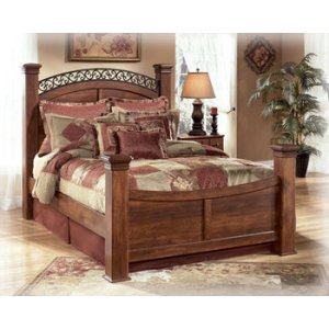 Ashley Furniture Timberline - Warm Brown 4 Piece Bed Set (Queen)
