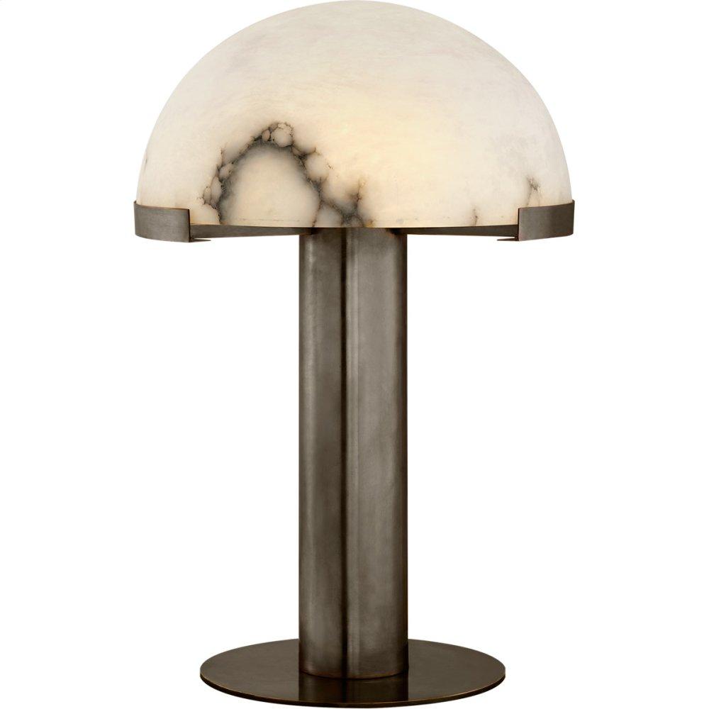 visual comfort kw3010bzalb kelly wearstler melange 23 inch 145 watt bronze table lamp portable hidden