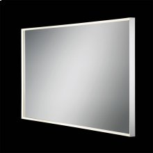 LARGE CCT RECTANGULAR EDGE LIT MIRROR - Mirror