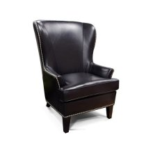 Leather Luther Chair with Nails 4534ALN