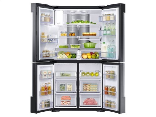22 cu. ft. Capacity Counter Depth 4-Door Flex Refrigerator with Family Hub