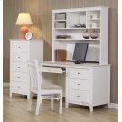 Selena Coastal White Hutch Product Image