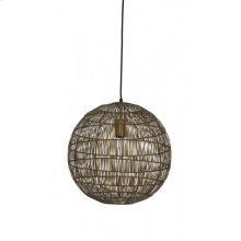 Hanging lamp 40x40 cm SARAH bronze