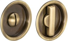 Sliding Pocket Door Mortise Lock in (SB Shaded Bronze, Lacquered)