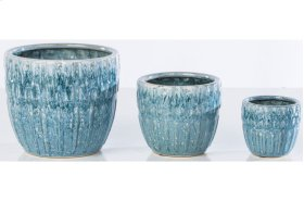 Tidewater Cachepot - Set of 3