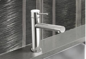 Blanco Alta Pullout Kitchen Faucet W/ Dual Spray - 1.8 Gpm - Satin Nickel