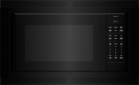"WolfStandard Microwave 30"" Black Trim - M Series"