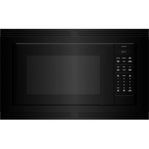 "WolfStandard Microwave 30"" Black Trim - M Series"