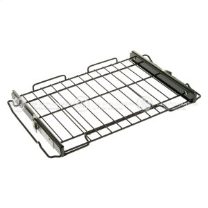 RACK OVEN SLIDE ASSEMBLY (BLACK) -