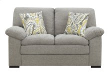 Emerald Home U3526-01-03 Grandview Loveseat, Pebbled Gray