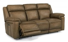 Brody Leather Power Reclining Sofa with Power Headrests