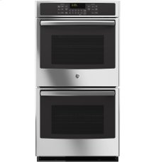"GE® 27"" Built-In Double Convection Wall Oven"