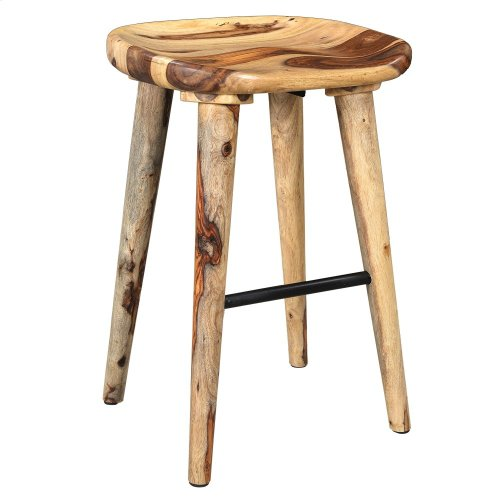 "Tahoe 26"" Stool in Natural"