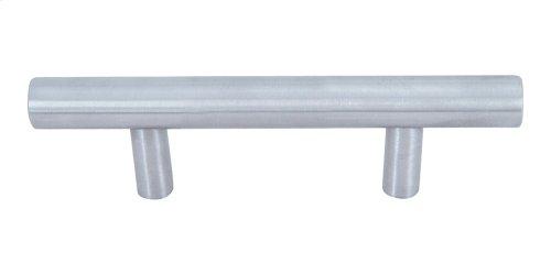 Linea Rail Pull 3 Inch (c-c) - Brushed Nickel