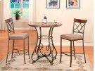 3-Pc. Hamilton Pub Set - (1) 697-404 Pub Table & (2) 697-432 Bar Stools Product Image
