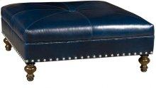 Franco Leather Ottoman