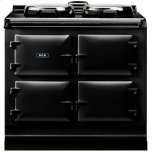 Black  Dual Control 3-Oven All Electric