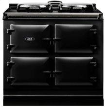 Black AGA Dual Control 3-Oven All Electric
