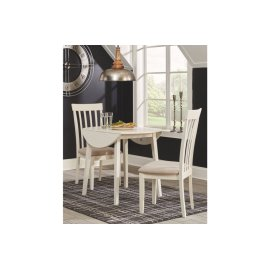 Round DRM Drop Leaf Table
