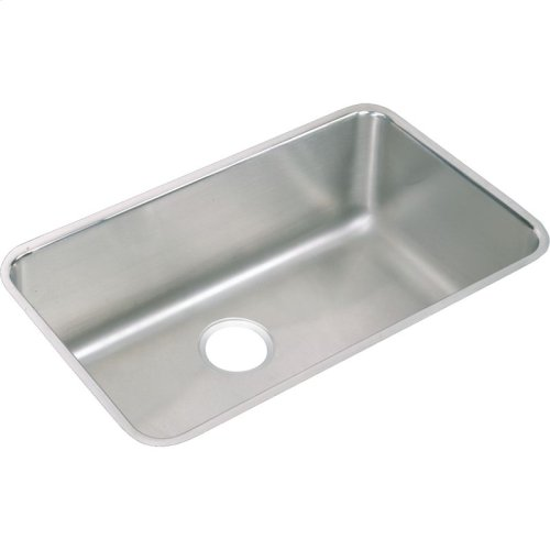 """Elkay Lustertone Classic Stainless Steel, 30-1/2"""" x 18-1/2"""" x 11-1/2"""", Single Bowl Undermount Sink and Faucet Kit"""