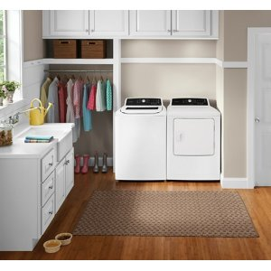Frigidaire 4.1 Cu. Ft. High Efficiency Top Load Washer / Frigidaire 6.7 Cu. Ft. Free Standing Electric Dryer