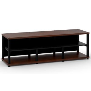 Salamander DesignsSynergy 20 Triple-Width Core Module with Center Opening, Walnut with Black Posts