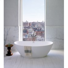 Elise  Gorgeous Luxury Bath Tub With Rolled Rim
