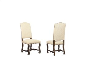 Collection One Harvest Upholstery Side Chair - Espresso