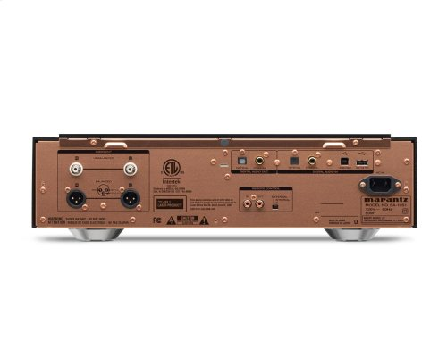 SACD/CD Player with USB DAC and Digital Inputs