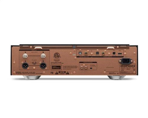 SACD/CD Player with USB DAC and Digital Inputs