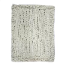 Abuela Wool Throw Natural