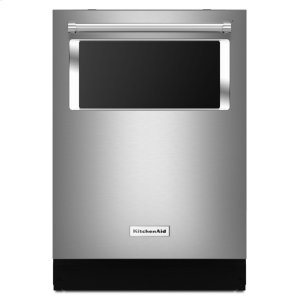 Kitchenaid44 dBA Dishwasher with Window and Lighted Interior - Stainless Steel