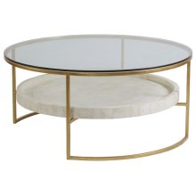 Cumulus Round Cocktail Table