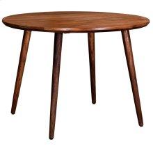 Arnav Round Dining Table in Walnut