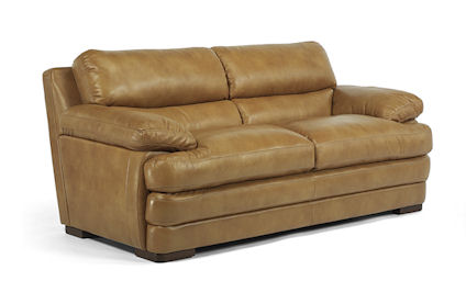 Dylan Leather Love Seat