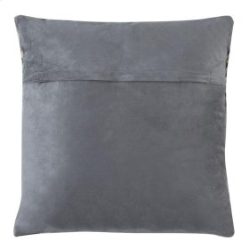 PALM COWHIDE PILLOW - White