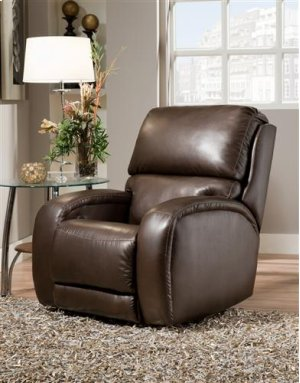 Armless Recliner with Power Headrest