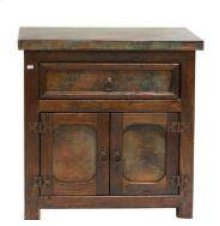 Capitel Copper Nightstand