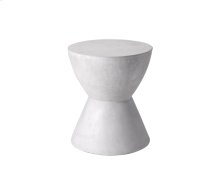 Logan End Table - White