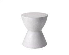 Logan End Table - White