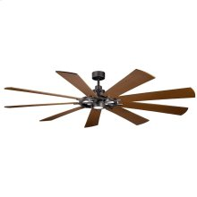 "Gentry XL LED 85"" Fan Anvil Iron"