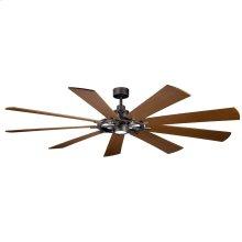 """Gentry XL LED 85"""" Fan Anvil Iron"""