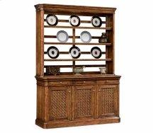 Dresser on Base with Lattice Doors