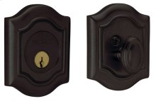Distressed Oil-Rubbed Bronze Bethpage Deadbolt